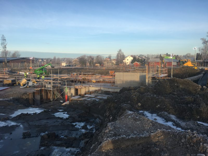 Fredrikstad Seafoods construction progressing according to plan